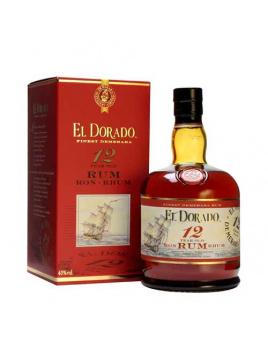 Rum El Dorado 12 ročný 40% 0,7 l