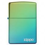 Zapaľovač Zippo 26914 High Polish Teal Zippo Logo