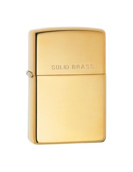 Zapaľovač Zippo Solid Brass