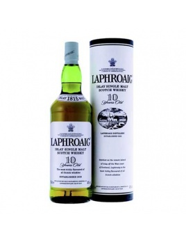 Whisky Laphroaig 10 ročná 40 % 0,7 l