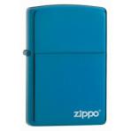Zapaľovač Zippo Sapphire w/Zippo Logo