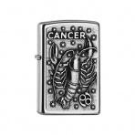 Zapaľovač Zippo 25552 Cancer Zodiac Emblem