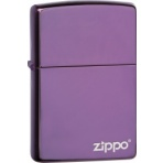 Zapaľovač Zippo 26415 High Polish Purple Zippo Logo