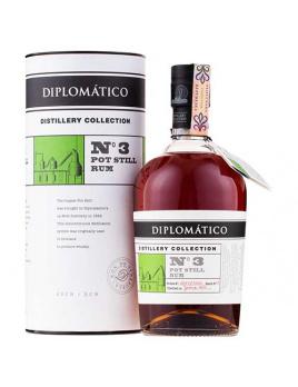 Diplomático Diplomatico Distillery Collection No.3 Pot Still 47 % 0,7 l