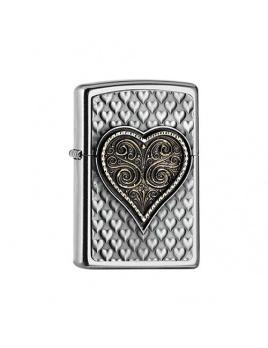 Zapaľovač 25542 Heart Emblem 3D