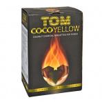 Uhlíky do vodnej fajky Tom Coco Yellow kokosové 1 kg