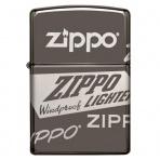 Zapaľovač Zippo 25529 Zippo logo Design
