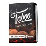 Uhlíky do vodnej fajky TABOO kokosové /6/