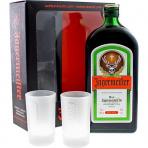 Jägermeister s 2 pohármi 35 % 0,7 l