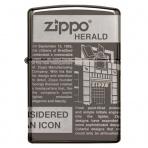 Zapaľovač Zippo 25528 Zippo Newsprint Design