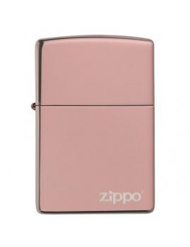 Zapaľovač Zippo 26908 High Polish Rose Gold Zippo Logo